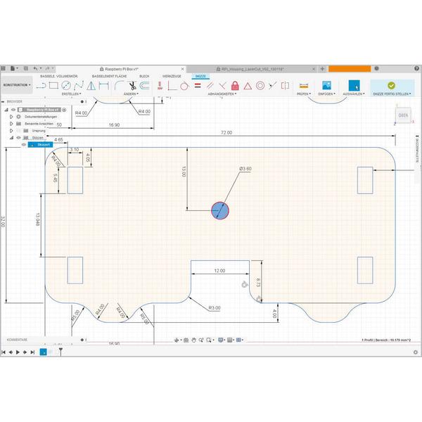 Von der Idee zum Objekt - Einstieg in das Computer-Aided Design (CAD) Teil 3