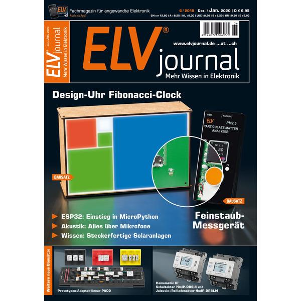 ELVjournal Ausgabe 6/2019 Digital (PDF)
