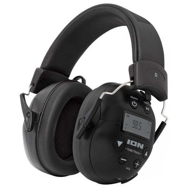 ION Audio Kapselgehörschutz-Kopfhörer ToughSounds 2, Bluetooth, Radio, Akku, 27 dB NRR