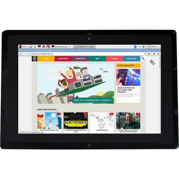 """Joy-IT 25,6-cm-Touchscreen-Display (10,1"""") für z. B. Raspberry Pi"""