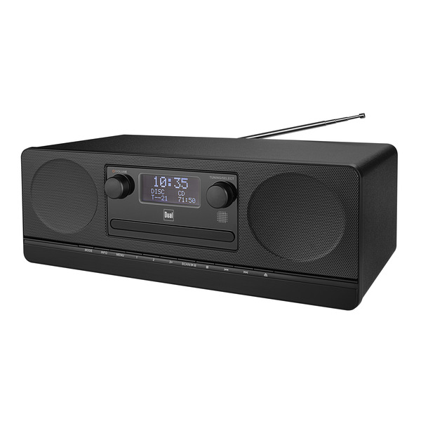 Dual Digitalradio DAB 420BT, UKW/DAB+, Bluetooth, USB, integrierter CD-Player