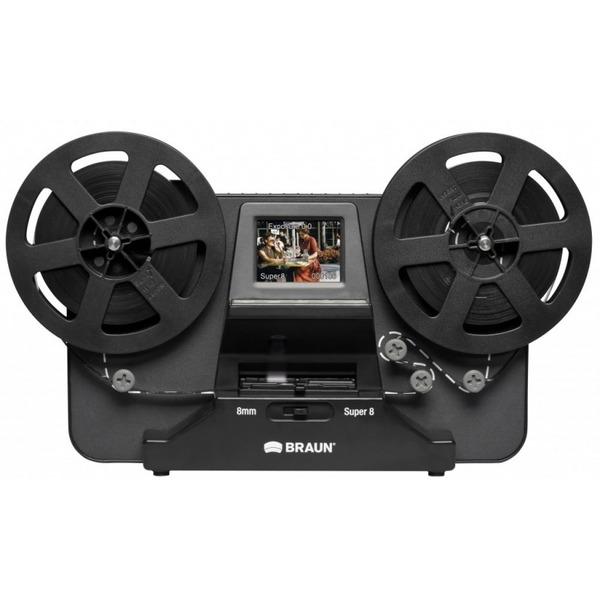 BRAUN Film-Scanner NovoScan Super 8/-Normal 8