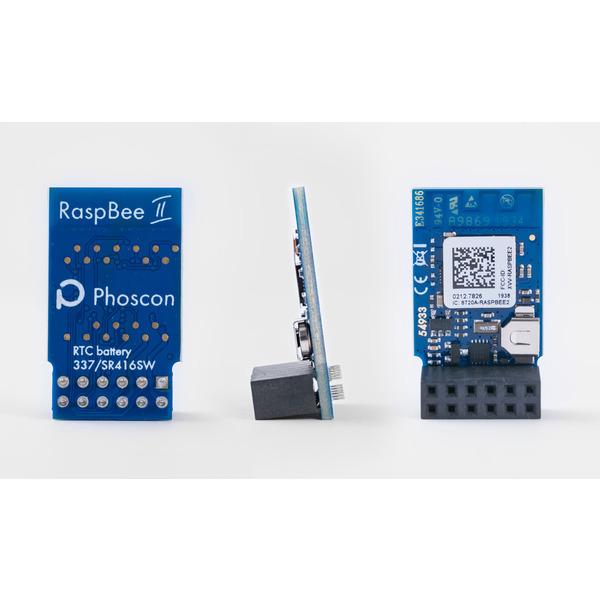 RaspBee II, ZigBee-Aufsatzmodul für Raspberry Pi