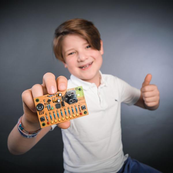 Spaß mit Elektronik - Kleines 1D-Pong-Spiel für Kinder - selbst gebaut