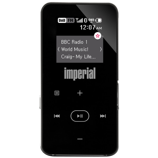 Imperial Portables Pocketradio Dabman 2, UKW/DAB+, Bluetooth-/UKW-Transmitterfunktion