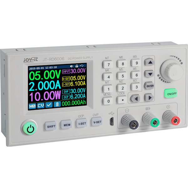 Joy-IT-Step-down-Gleichspannungs-Netzteil JT-RD6006, 0-60 V/0-6 A, max. 360 W