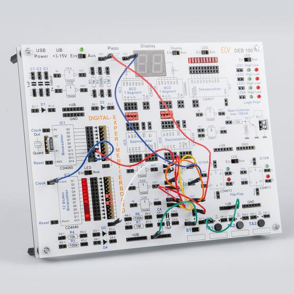 Aus Logik wird Sound - Digitales Experimentierboard DEB100 Anwendungsbeispiel Sounderzeugung