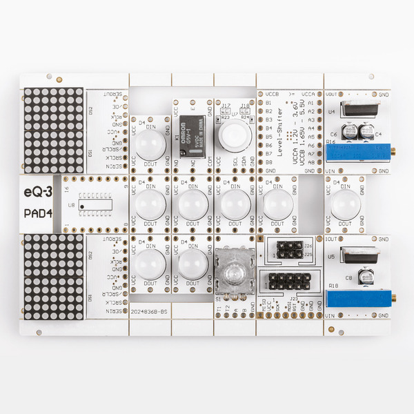 Mikrorechner-Peripherie - Prototypenadapter PAD4 - digitale Bauteile