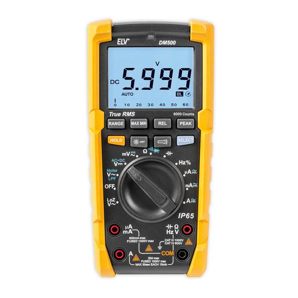 Leser testen das ELV Digital-Multimeter DM500, TrueRMS