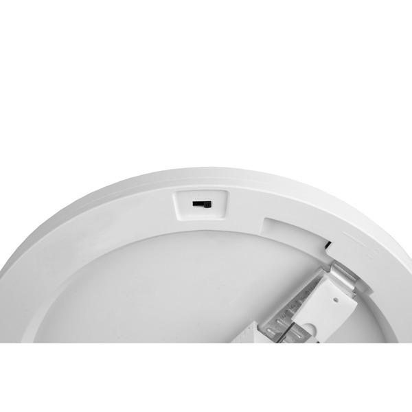 Optonica 30-W-LED-Einbau-/Aufbauleuchte 2587, 3000 lm, 3000-6000K, Einbaudurchmesser verstellbar