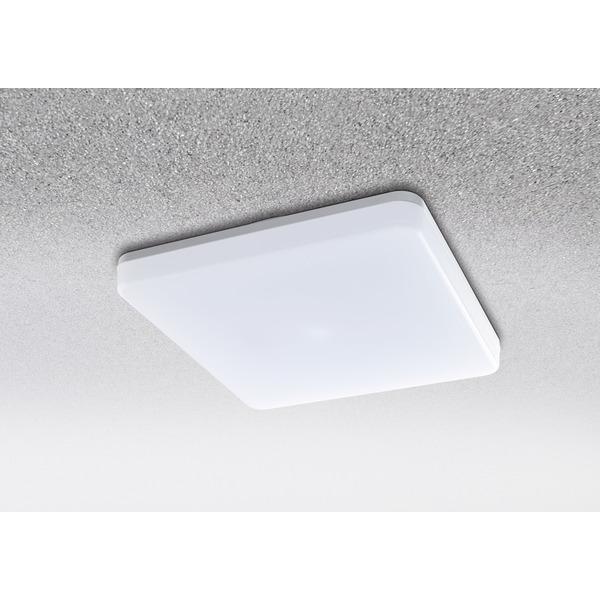 HEITRONIC 24-W-LED-Decken-/Wandleuchte Pronto mit Bajonett-Anschluss, eckig, warmweiß, IP54