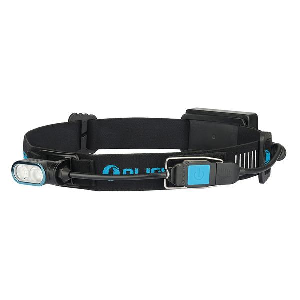Olight Akkubetriebene LED-Stirnlampe Array, bis zu 400 lm, 180° schwenkbar, bis zu 13 h Laufzeit, IP
