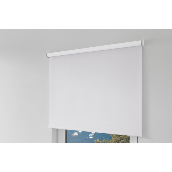 Erfal Smartcontrol Rollo by Homematic IP, 230 x 120 cm (H x B), halbtransparent tageslicht weiß