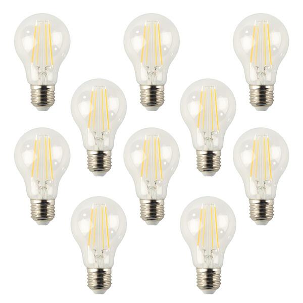 ELV 10er-Spar-Set FL PREMIUM A40 5-W-LED-Lampe E27, 90 Ra, warmweiß