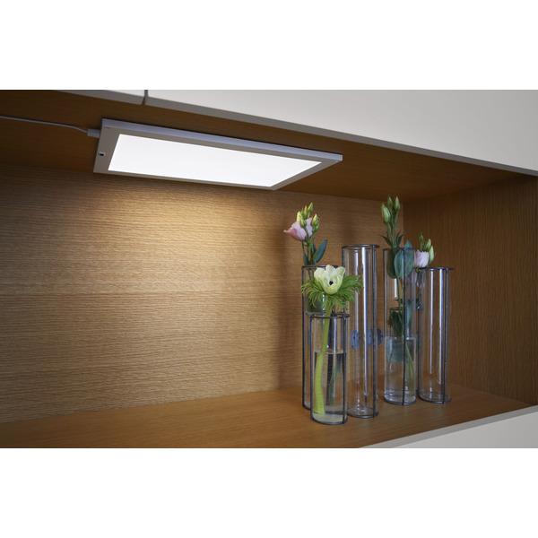 Ledvance 7,5-W-LED-Panel CABINET, 300 x 200 mm, mit Bewegungssensor, stufenlos dimmbar, IP20