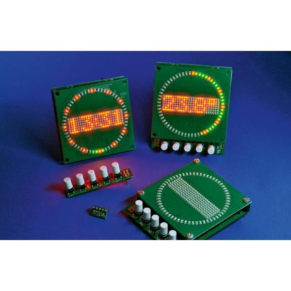 Schöne Zeit - Mini-Kreis-LED-Uhr MKLU1
