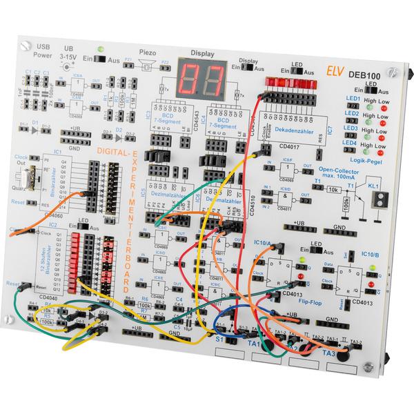 Auf die Plätze, fertig, los! - Digitales Experimentierboard DEB100