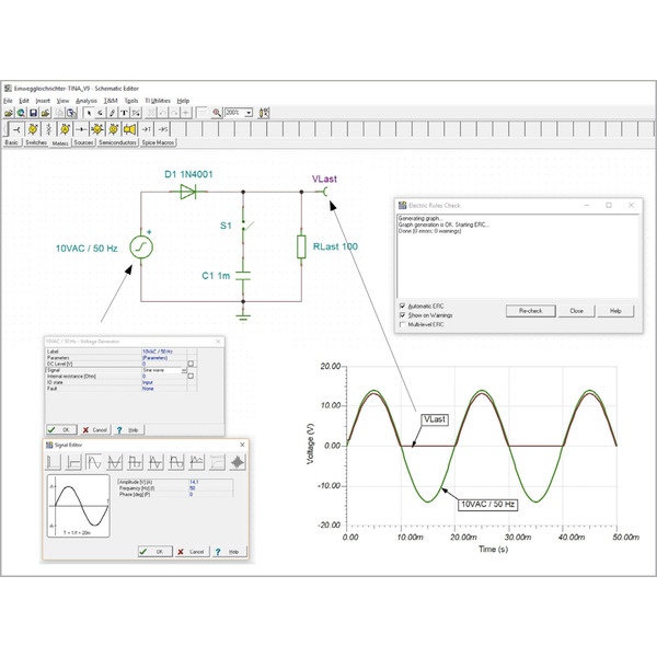 Einfach simulieren - SPICE - Schaltungssimulation als unverzichtbares Hilfsmittel für den Schaltungs