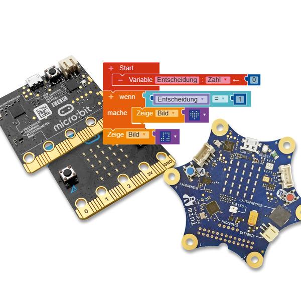 Einsteigen ganz einfach - Lern-Mikrocomputer BBC micro:bit und Calliope mini