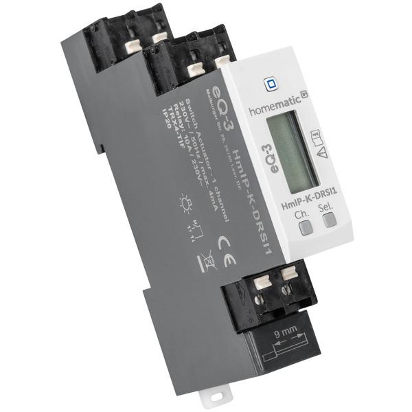 Smarter Ersatz - Homematic IP Schaltaktor für Hutschienenmontage HmIP-K-DRSI1