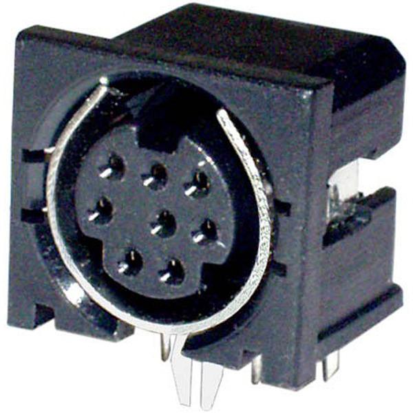 Mini-DIN-Buchse, (S-VHS) 4-polig