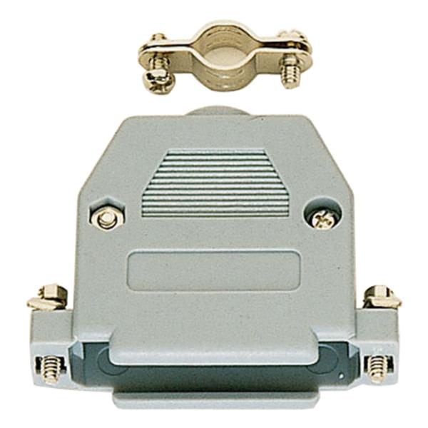 SUB-D-Kunststoffgehäuse, 15-polig