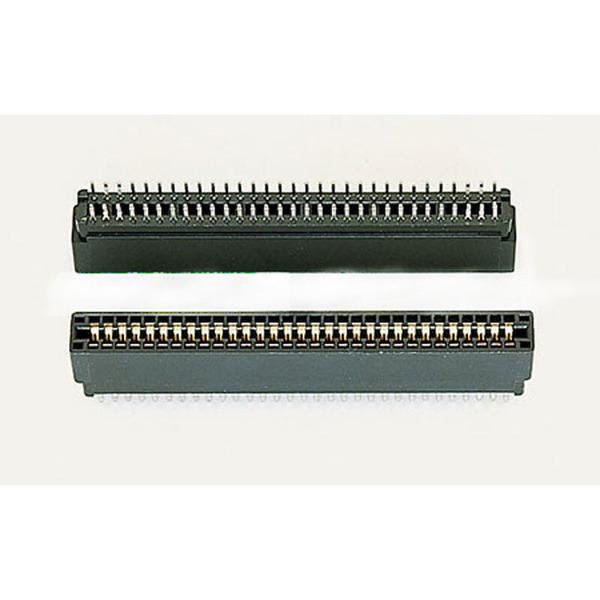 Slot-Stecker, Rastermaß: 2,54 mm, 2 x 18-polig