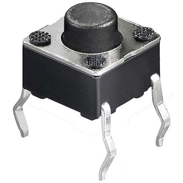 Miniatur-Drucktaster, 1x ein, Knopflänge 1,5 mm
