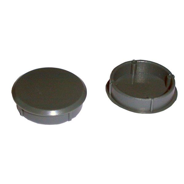 Knopfkappe grau 29 mm