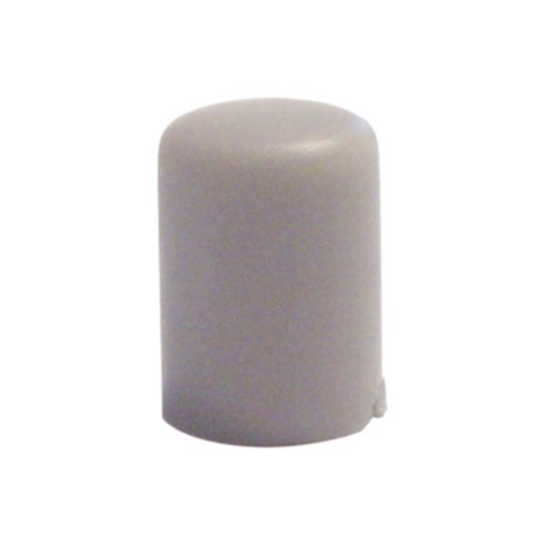 Tastknopf, grau, 10 x 7,4 mm Durchmesser