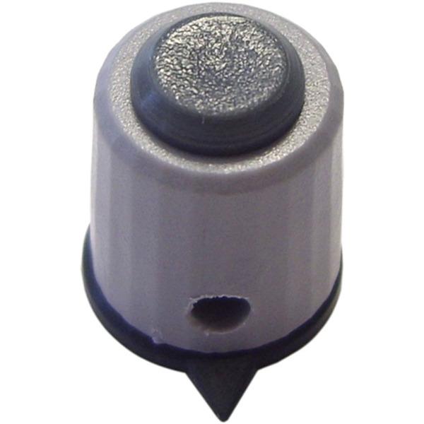 Kunststoff-Drehknopf, Knopfdurchmesser: 12 mm