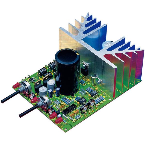 Komplettbausatz PWM-Schaltnetzteil-Platine, (Ohne Netztrafo, Gehäuse, Panelmeter)