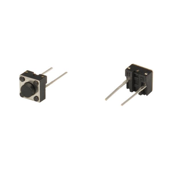 Miniatur-Taster mit zwei Lötstiften, 1x ein