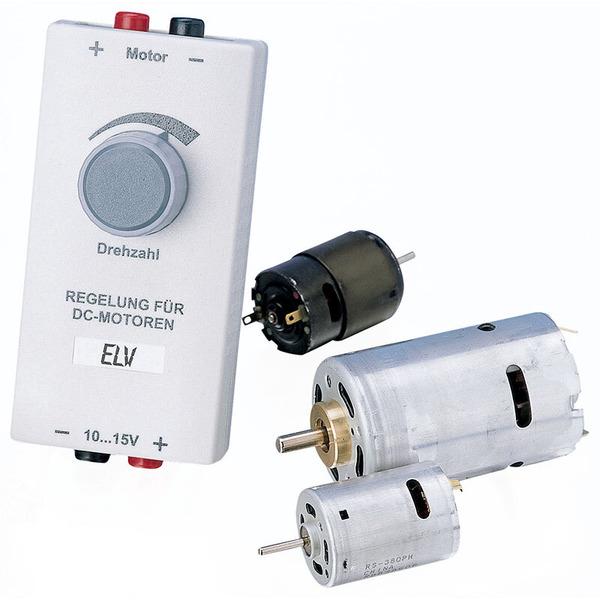 ELV Komplettbausatz Lastunabhängige DC-Motor-Drehzahlregelung