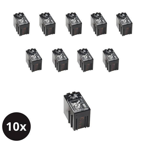 ELV 10er-Set SMD-Sortierbox, Antistatik, 23 x 15,5 x 27 mm