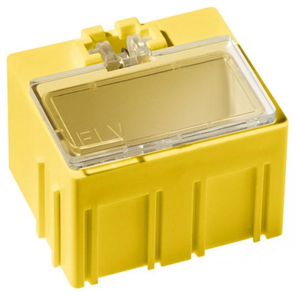 ELV 10er-Set SMD-Sortierbox, Gelb, 23 x 31 x 27 mm