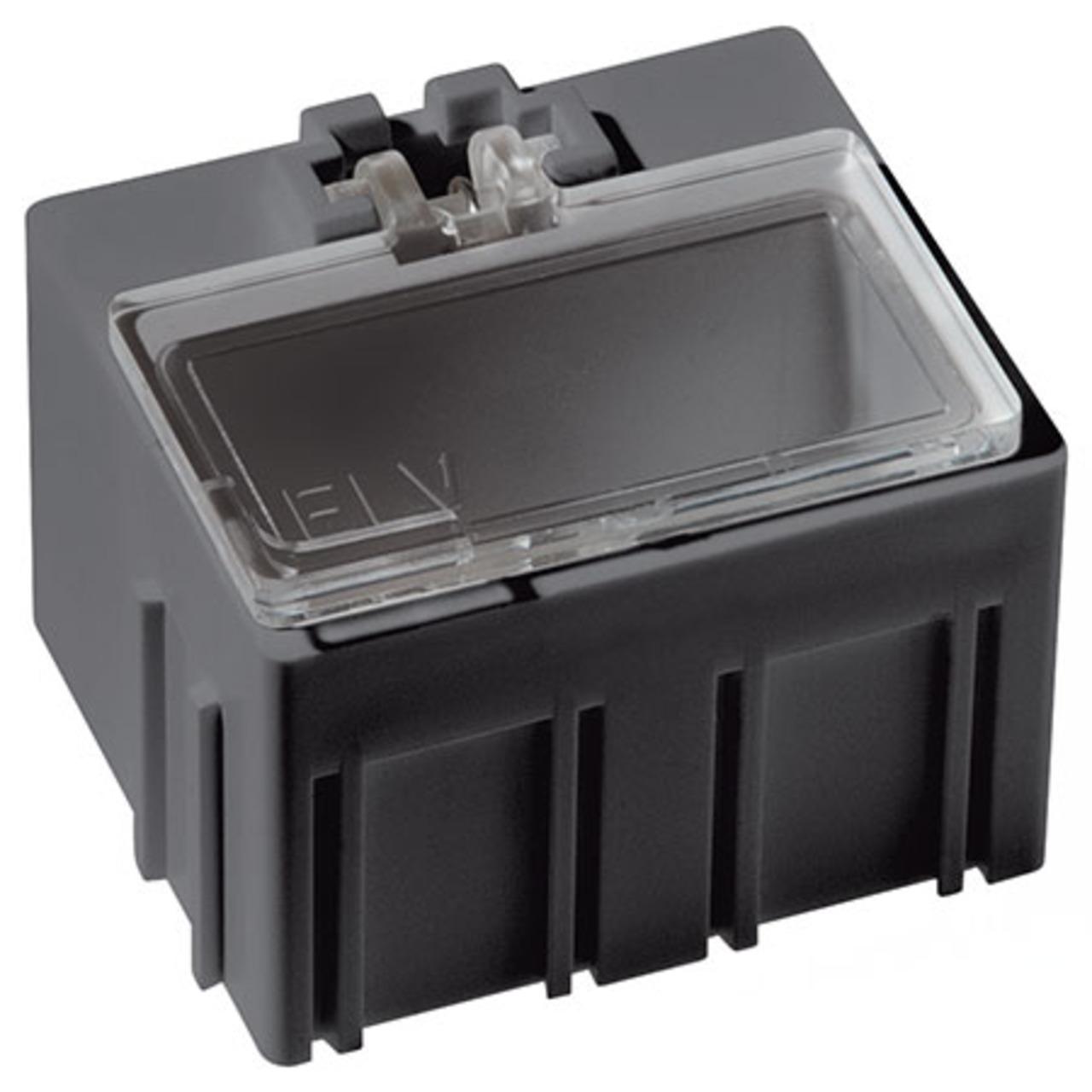 Image of 10er-Set ELV SMD-Sortierbox, Antistatik, 23 x 31 x 27 mm