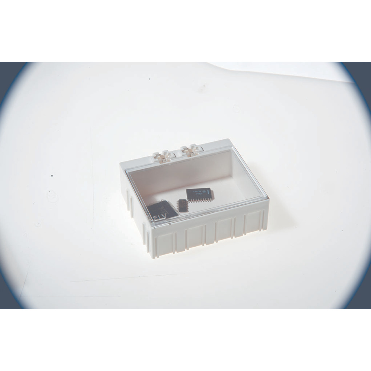 ELV 10er-Set SMD-Sortierbox- Altweiss- 23 x 62 x 54 mm