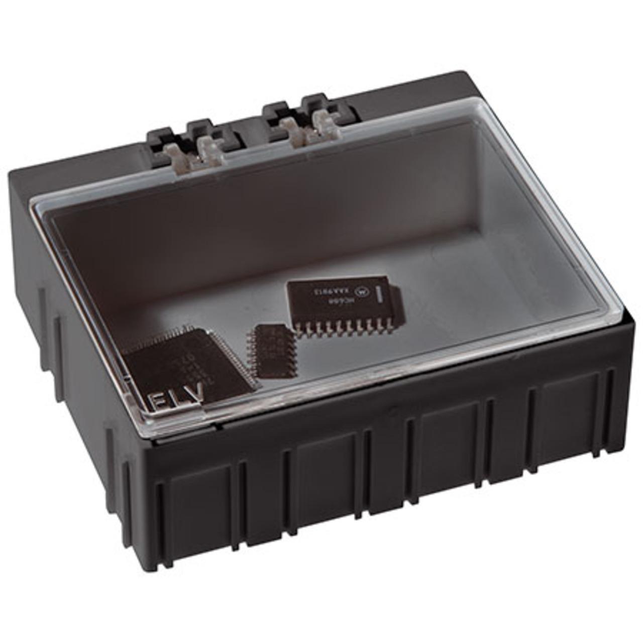 Image of 10er-Set ELV SMD-Sortierbox, Antistatik, 23 x 62 x 54 mm