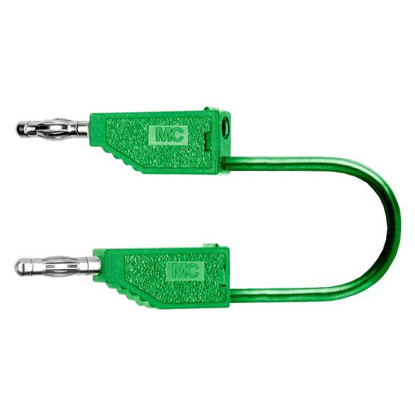 PVC-Verbindungsleitungen 19A, 0,5m, grün, 4 mm