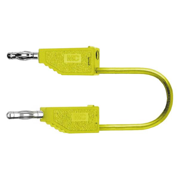 PVC-Verbindungsleitungen 19A, 0,5m, gelb, 4 mm