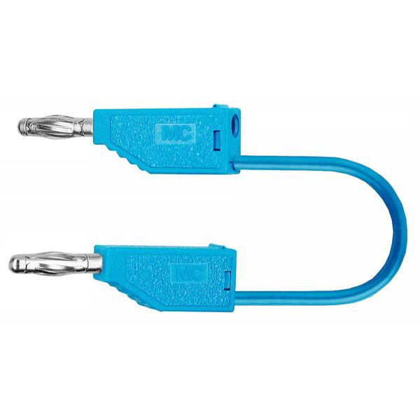PVC-Verbindungsleitungen 32A, 0,5m, blau, 4 mm