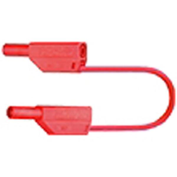 Sicherheitsmessleitungen in PVC (SLK425-E/N) 4mm, 32A, 1m, rot