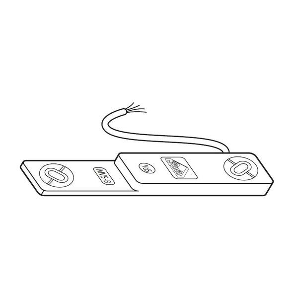 VdS-Fenstersicherung ROTO MVS-B - Kontaktelement