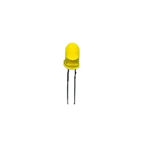 Kingbright Superhelle 3 mm LED, Gelb, 900 mcd