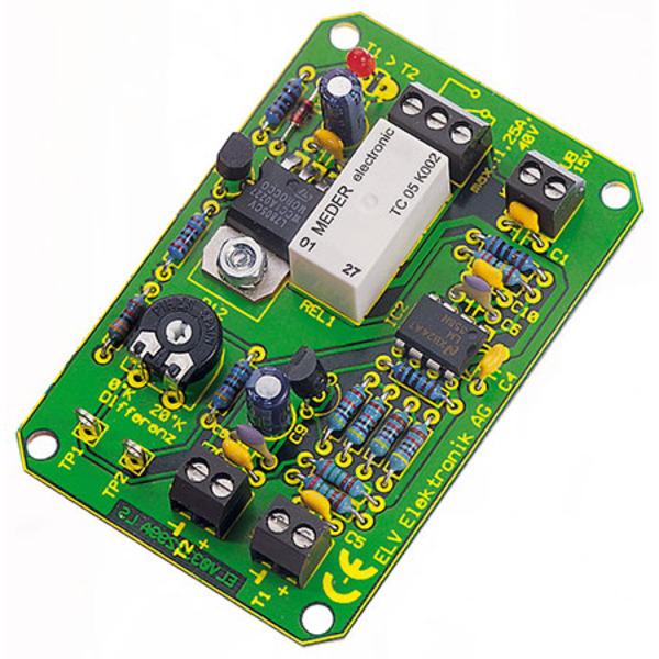 Komplettbausatz Temperaturdifferenz-Schalter TDS1