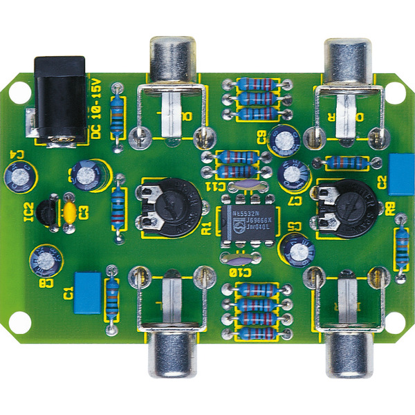 ELV Bausatz Aufhol-Verstärker AHV 100, ohne Gehäuse