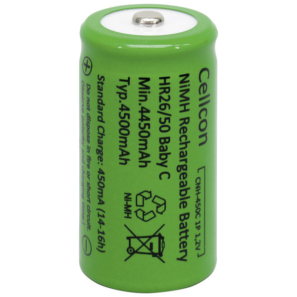 Cellcon NiMH-Akku Baby 4500 mAh
