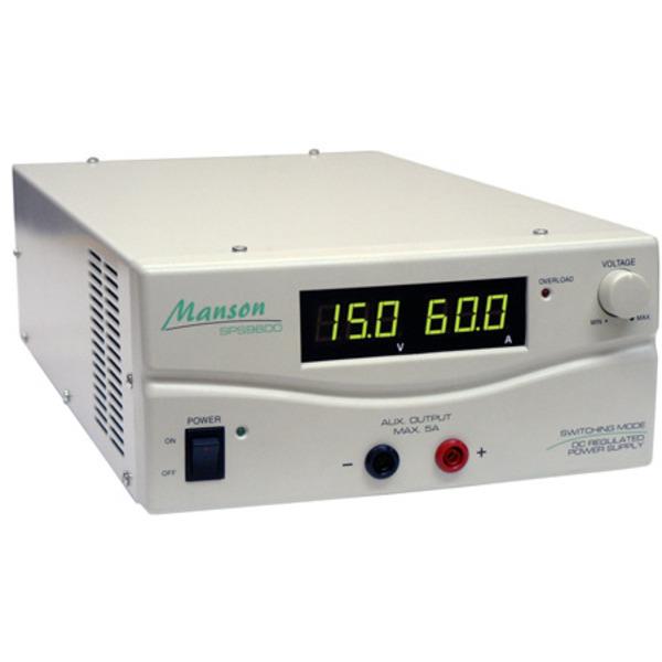 Manson Schaltnetzteil SPS 9602, 900 VA, 1–30 V, 30 A