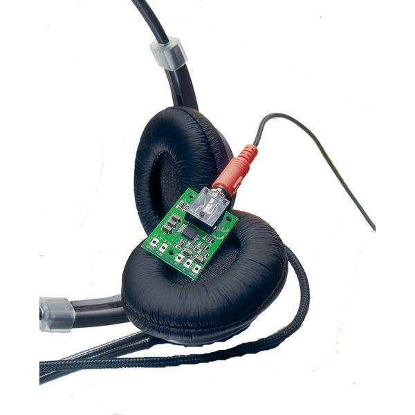 ELV Komplettbausatz Low-Voltage-Stereo-Kopfhörer-Verstärker